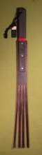 "TAWSE - FOUR Tail Black -  2"" x  26""  -  $32.99"