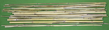"""Bamboo Caning Sticks  """"RAW""""   A BIG OUCH -  20 Pack  Only $19.99"""