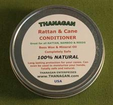 Rattan and Cane Conditioner -  Four Ounce Tin - Only $8.99