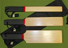 Solid MAPLE Wooden Paddle Set with Case  $59.99