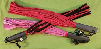 """Erotic Body Flogger - Assorted Colors  18""""   -  $24.99"""
