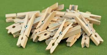 MINI Clothes Pin Clamps - Set of 24 - $9.99 - NOW only $8.99