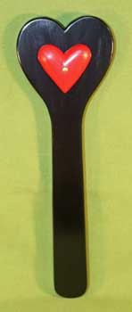 "Red Heart Black Wooden Paddle  - 15"" x 4 1/2""   $24.99"