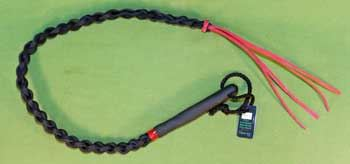 "Braided Leather SWHIP 29""   (35"" with tails)  Very Stingy  $23.99"